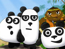 الباندا الثلاثة